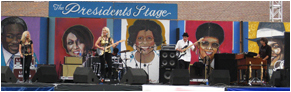 Laurie Morvan Band at Monterey Blues Festival