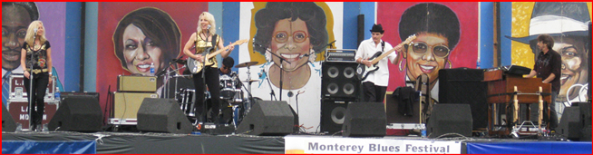 Laurie Morvan Band rocks the Monterey Bay Blues Festival