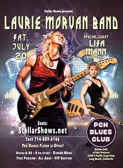 Live Blues Music Laurie Morvan Band Lauriemorvancom