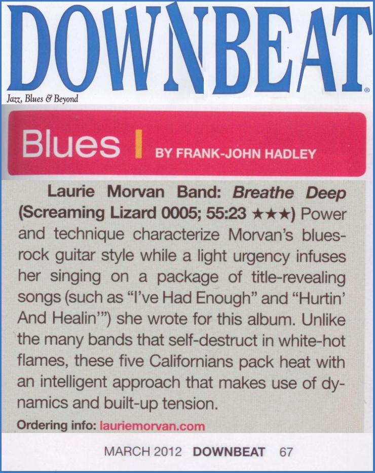 laurie morvan band breathe deep